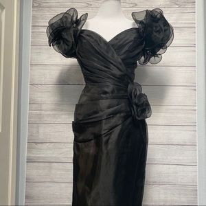 Tadashi black dress NWT